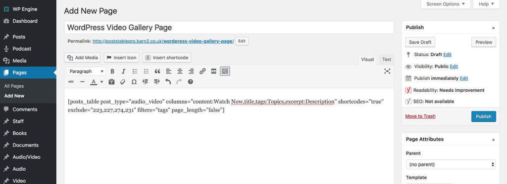 最好用的WordPress视频库插件及其使用教程插图(4)