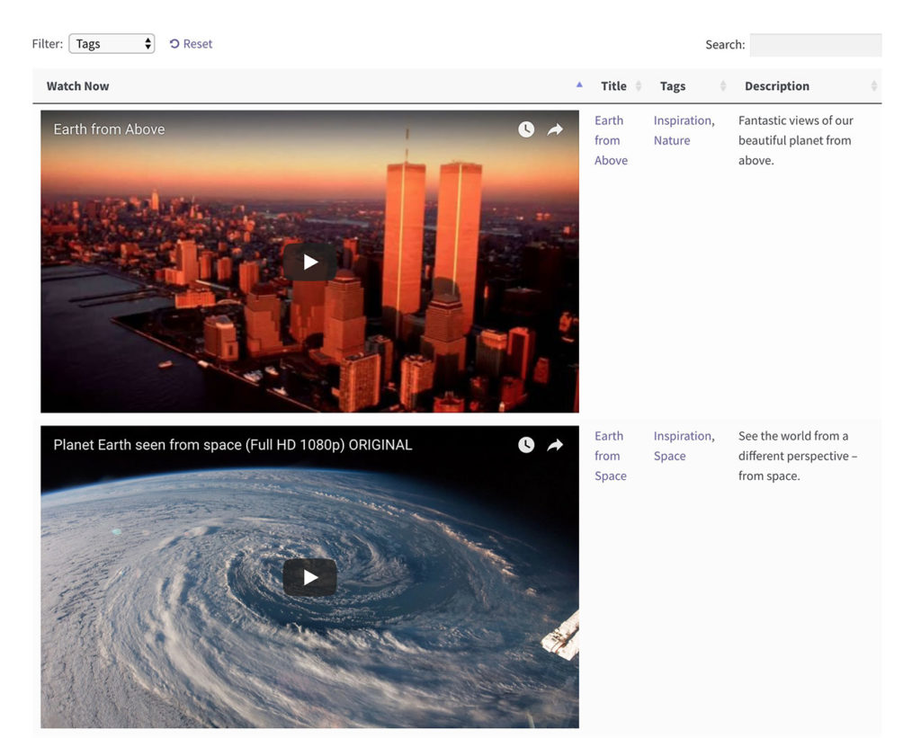 最好用的WordPress视频库插件及其使用教程插图(2)
