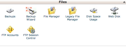 files backup wordpress