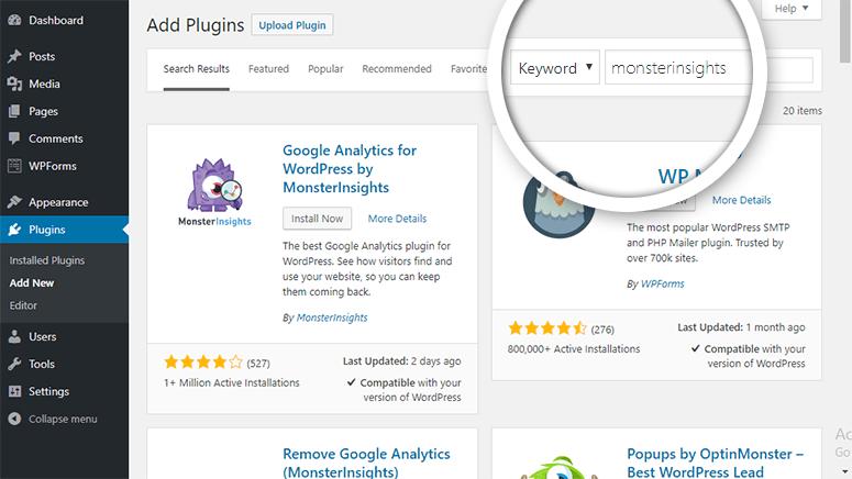 WordPress博客添加谷歌统计代码教程插图8