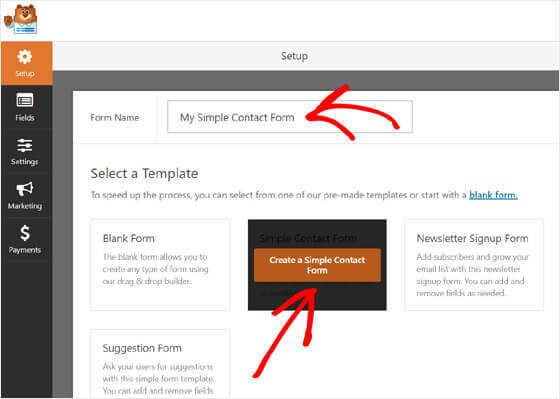 WordPress博客创建联系表单教程插图2