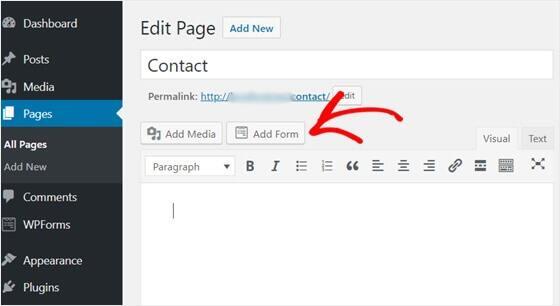 WordPress博客创建联系表单教程插图4