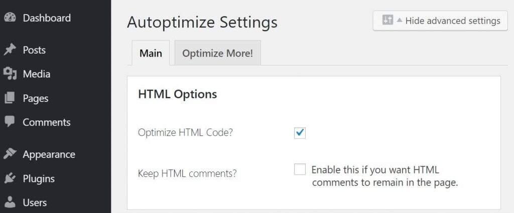优化HTML代码