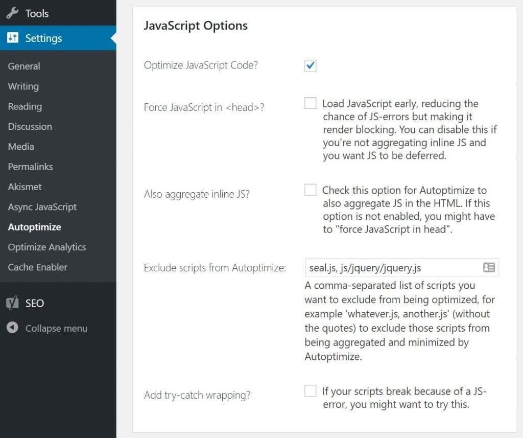 优化JavaScript代码