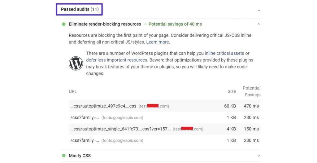 启用Autoptimize和Async JavaScript后PageSpeed Insights评测结果