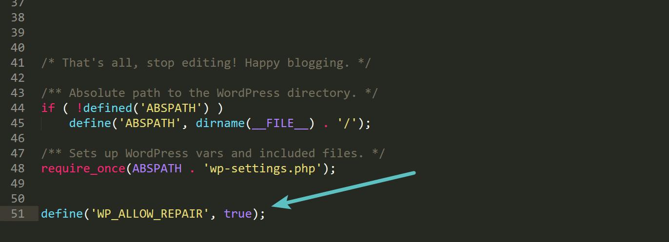 WordPress修复模式