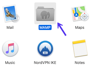 MAMP应用程序文件夹