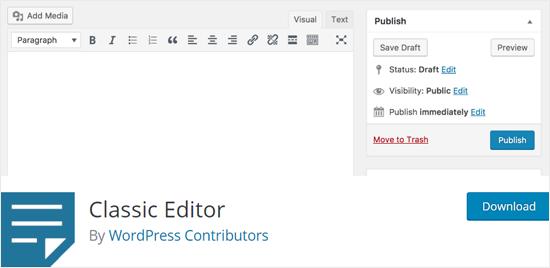 classic-editor-wordpress-plugin