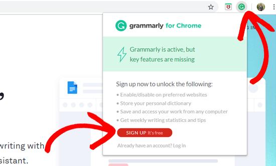 Grammarly账号注册