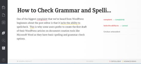 Grammarly云编辑器