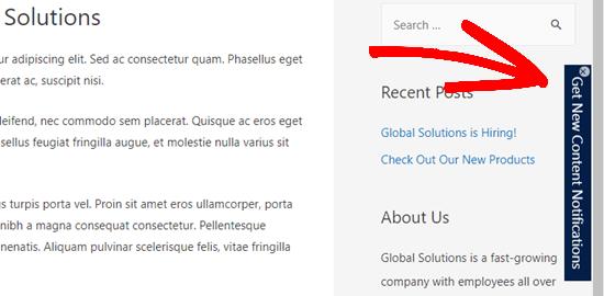 PushEngage插件-网站推送通知订阅按钮
