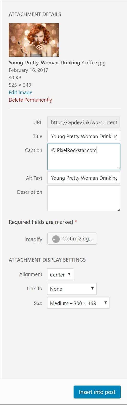 PixelRockStar照片默认设置信息