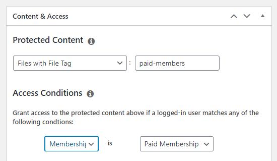 MemberPress插件文件下载权限设置