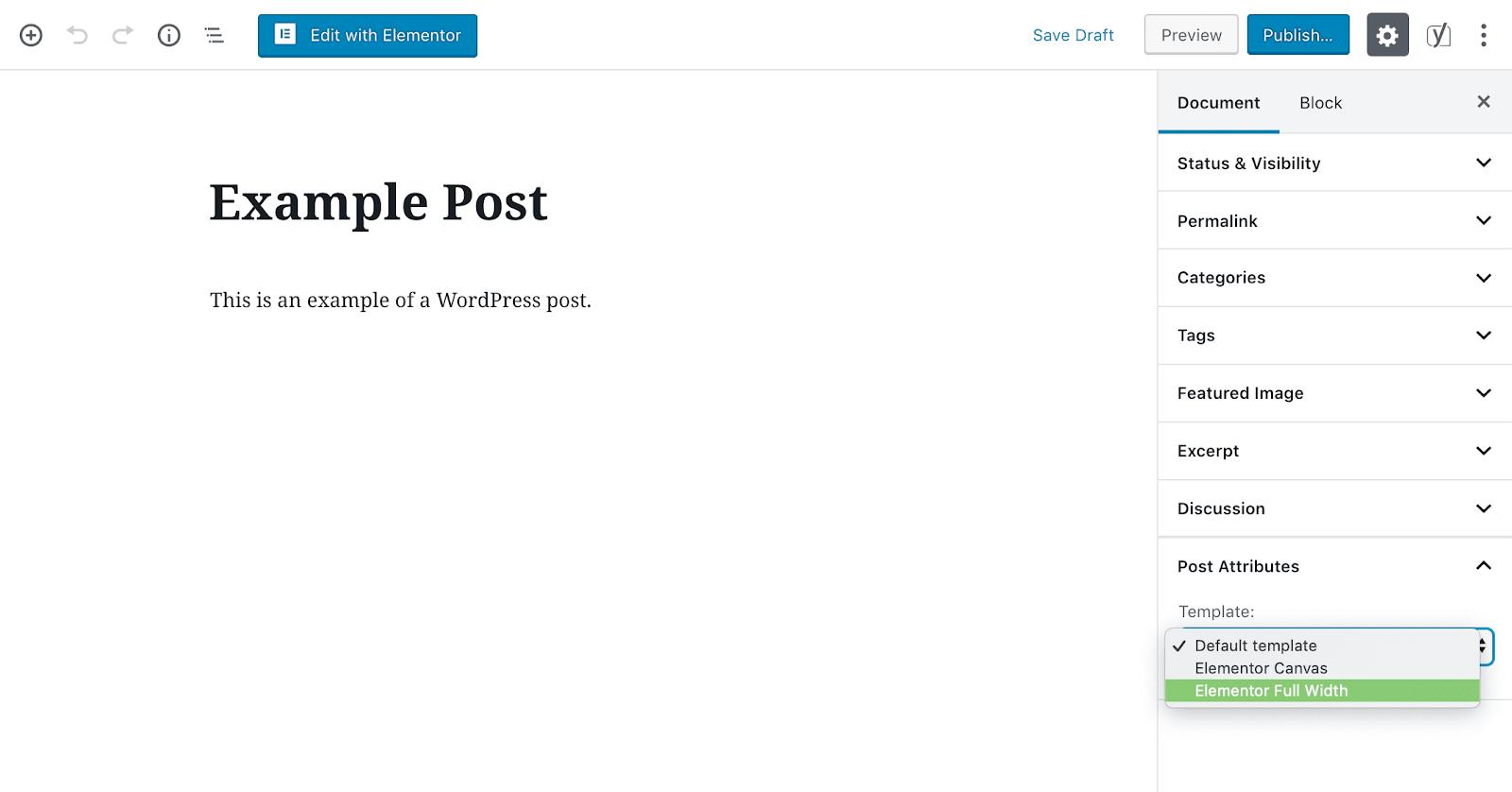 full-width文章模板示例