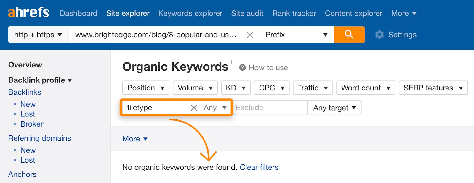 关键词无排名URL分析