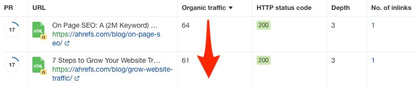适合内链建设URL筛选