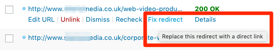 fix-redirect