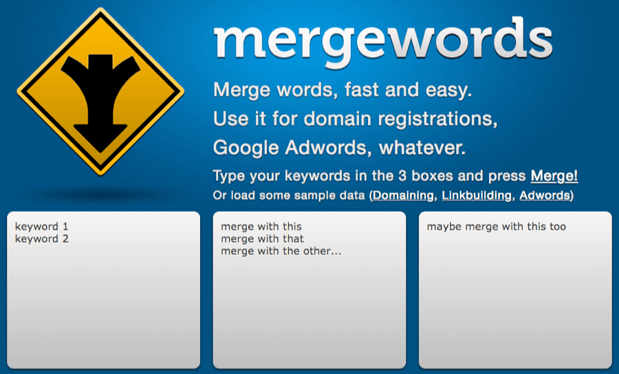 Merge Words