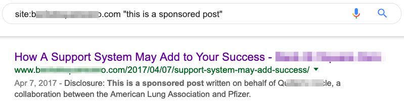 赞助链接检查