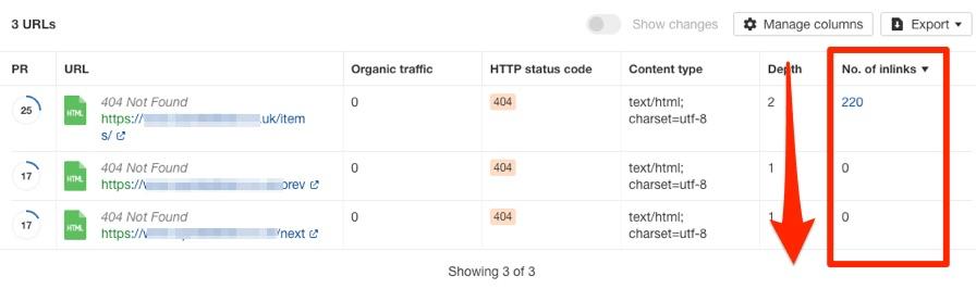 4xx状态码内部链接列表