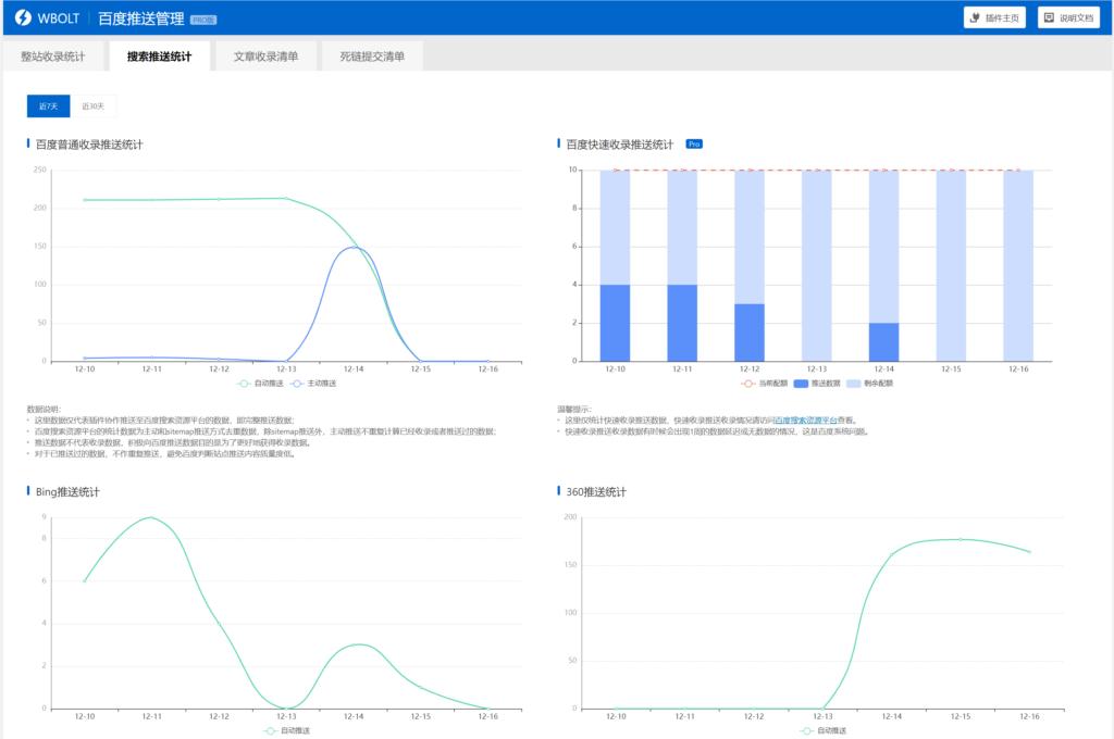 多合一搜索自动推送管理插件-提升搜索引擎收录效率插图2