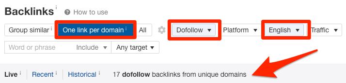 backlinks-report-filtered