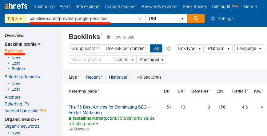 backlinks-to-dead-page