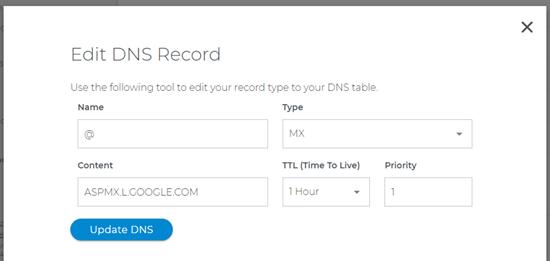 changing-mx-record-domaincom