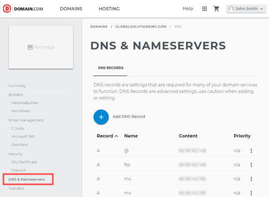 dns-and-nameservers-domaincom
