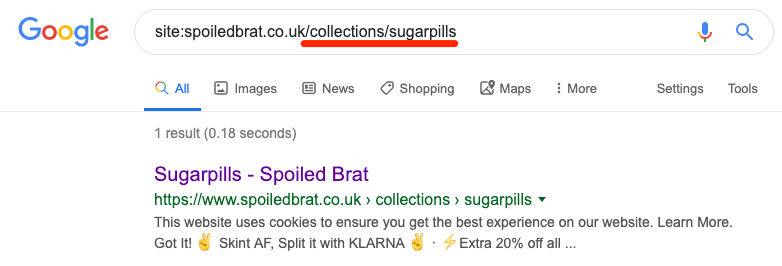谷歌搜索重复内容索引02