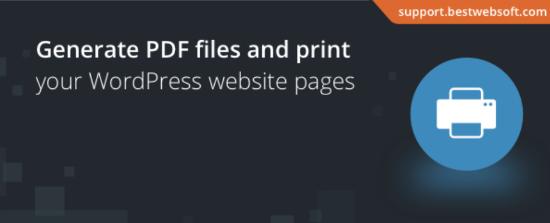 PDF下载打印插件