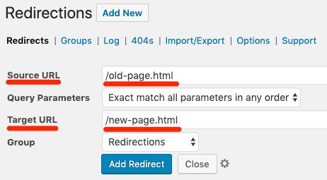 redirections-plugin