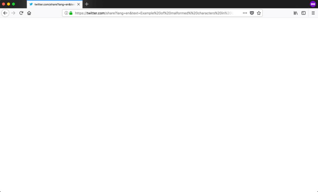 Firefox提示400错误请求