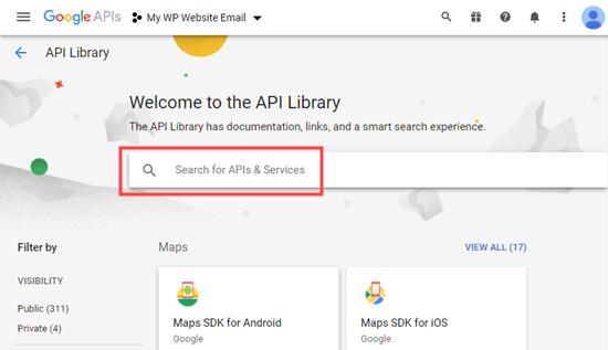 Gmail服务API