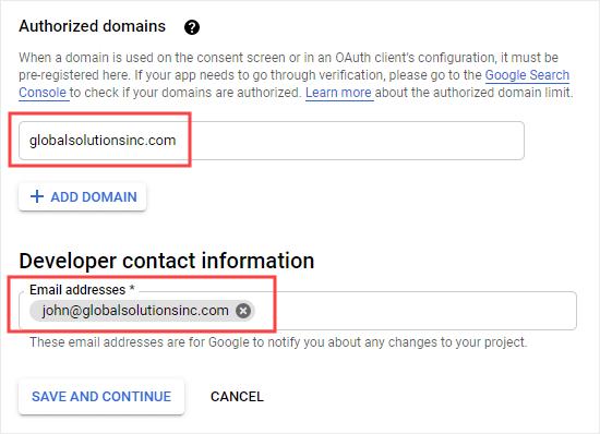 Google APP开发者联系信息