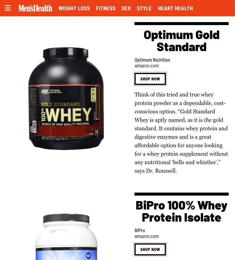蛋白粉推荐购买