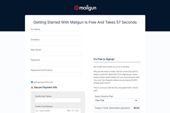 MailGun账号注册