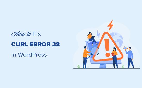 cURL error 28