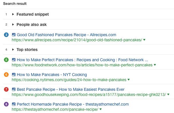 如何做煎饼谷歌搜索结果