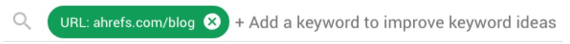 URL+关键词