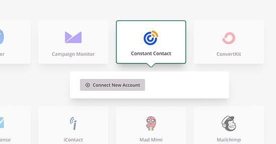 Constant Contact对接