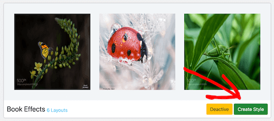 Image Hover Effects Ultimate插件效果样式设置