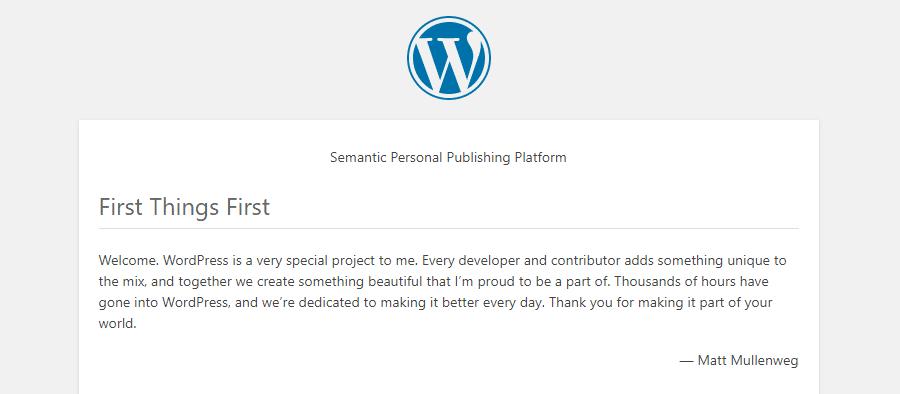 WordPress自述HTML