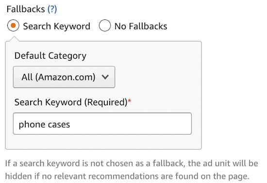 亚马逊推荐广告关键词设置