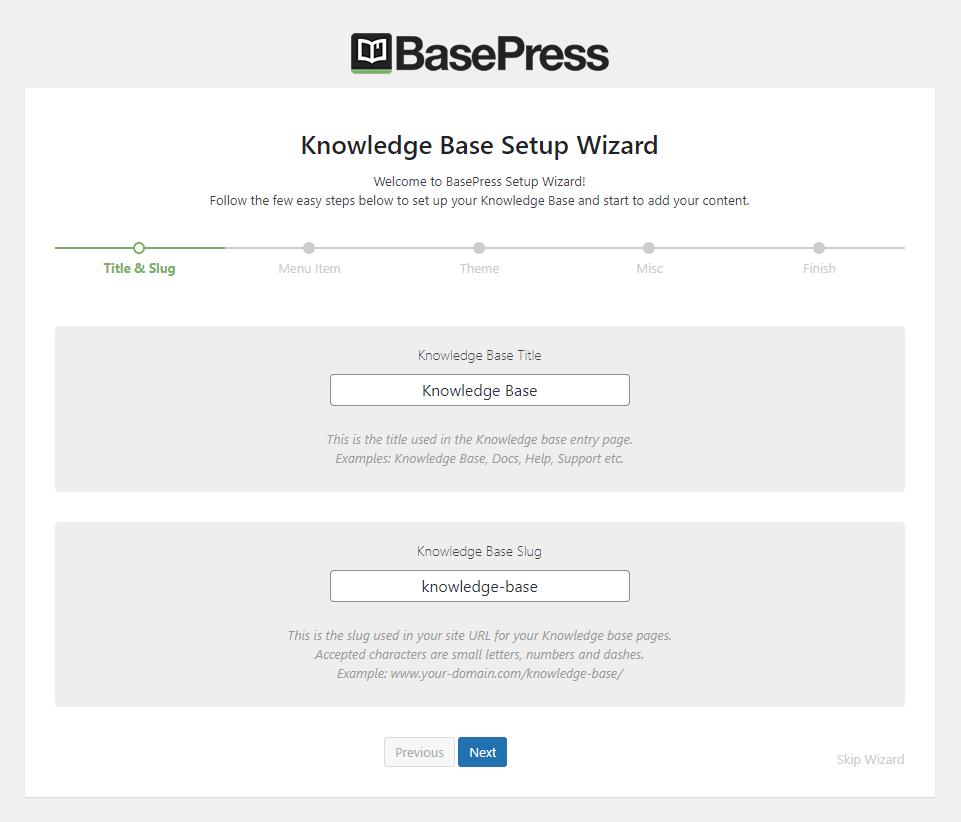 BasePress-插件安装向导