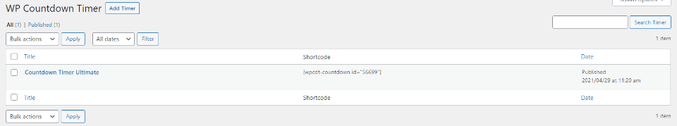 Countdown Timer Ultimate倒计时列表