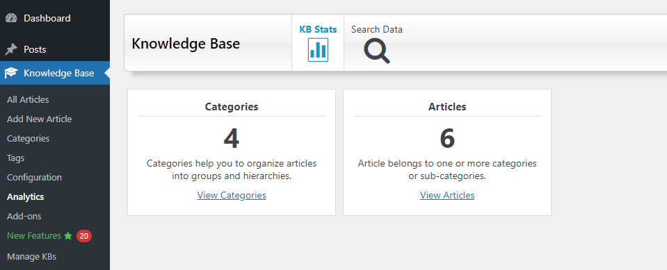 Knowledge-Base-for-Documentation-and-FAQs-插件后台