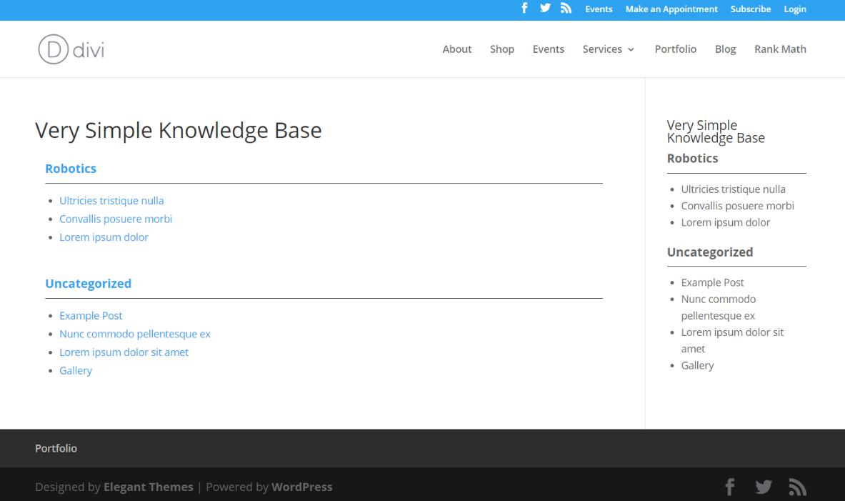 Very-Simple-Knowledge-Base-前端演示