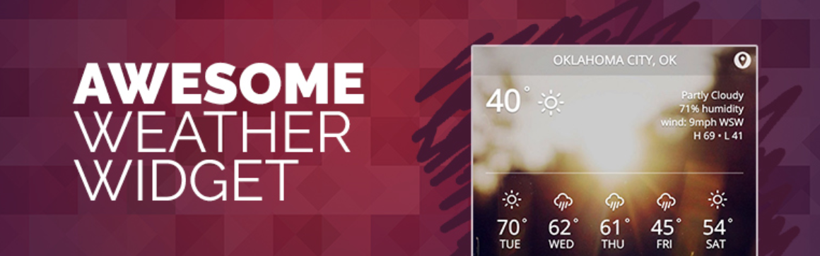 awesome-weather-widget