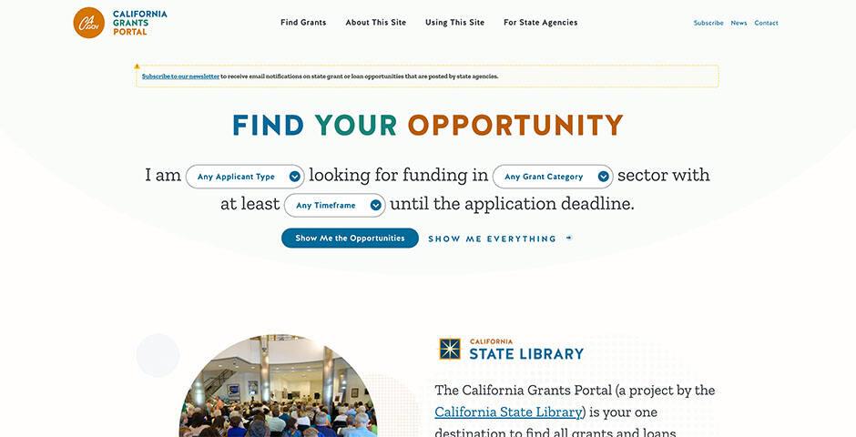 california-grants-portal